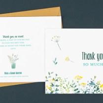 Wedding Thank You Card Wording Ideas From Rosemood