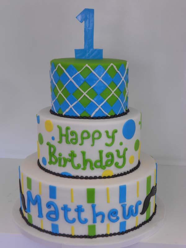 Download 3 Layer Birthday Cake