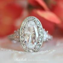5 0 Ct Tw Art Deco Ring