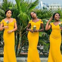 18 Yellow Bridesmaid Dresses For Bright Celebration