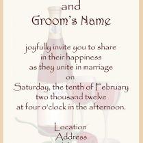 Sample Of Wedding Invitation Wording …