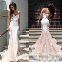Want A Wedding Dress That Incorporates The Classic Bridal White