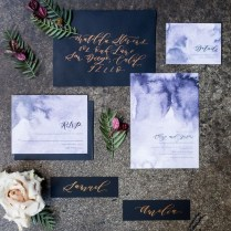 Copper Wedding Invitations Dark And Moody Wedding Inspiration At