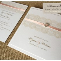 Diamond Collections » Bespoke Wedding Stationery, Save The Date