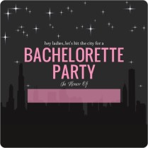 Free Bachelorette Party Evites Trisamoorddinerco Blank