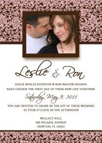 Homemade Wedding Invitation Template Invitation Templates Cool