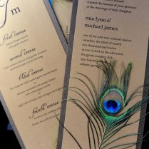 Peacock Wedding Invitations And Wedding Ideas