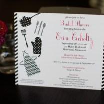 Cooking Themed Bridal Shower Invites – Fargo Wedding & Event