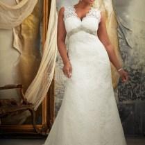 Plus Size Vintage Lace Wedding Dress – Ipunya