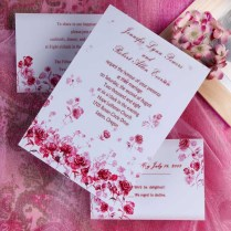 Red Rose Wedding Invitations Red Rose Wedding Invitations And New