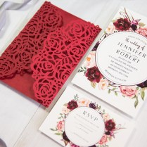 Red Rose Wedding Invitations Red Rose Wedding Invitations And Your