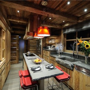 Rustic Meets Modern For A Kitchen That Would Significantly Upgrade