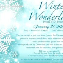 Winter Wonderland Party Invitations Invitation Template Themed