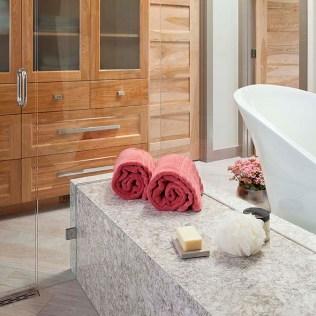Designer Lookbook Deidre Oliver's Streamlined Master Bath