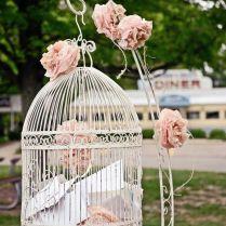 Rustic Wedding Birdcage Card Holder