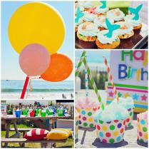 Kara's Party Ideas End Of Summer Vintage Beach Party Planning