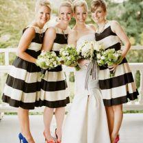 Best 25 Striped Bridesmaid Dresses Ideas On Emasscraft Org Preppy Black