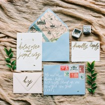 Dusty Blue And Cranberry Wedding Inspiration From Jessica Gold