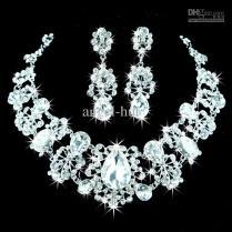 Bridal Necklace Diamond Set Chain Diamond Necklace Bridal Sets