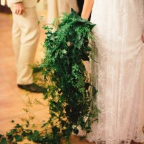 Cascading Greenery Bouquet By Zinnia Floral Designs