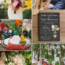 34 Awesome Rustic Wedding Ideas With Elegant Wedding Invitations