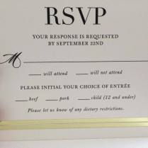 The Layout Of This Wedding Invitation Is Deeply Unfortunate