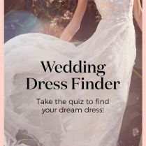 Our Wedding Dress Finder Will Help You Find The One! From Mermaids