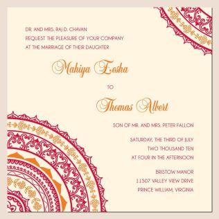 Wedding Invitations Wording