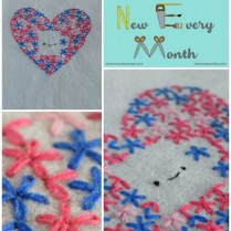 Lazy Daisy Stitch {try Something New Every Month}