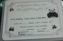 When A Celebrity Panda Declines Your Wedding Invite, You Do The