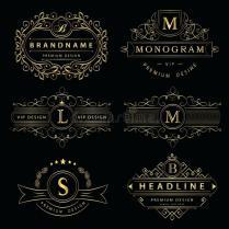 Monogram Design Download Monogram Design Elements Graceful