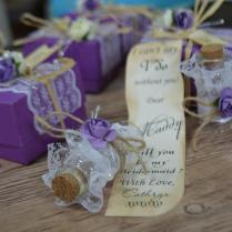 You Be My Bridesmaid Save The Date, Message In A Bottle, Rustic