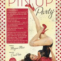 Jerseys Pin Up Party Friday Sept 21st From 8pm