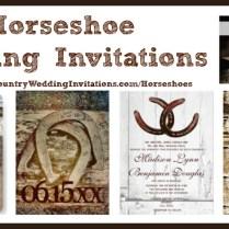 Horseshoe Wedding Invitations