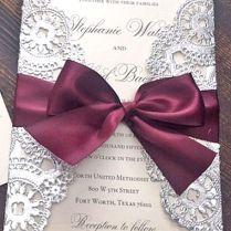 18 Elegant Winter Wedding Invitations ❤ See More Www