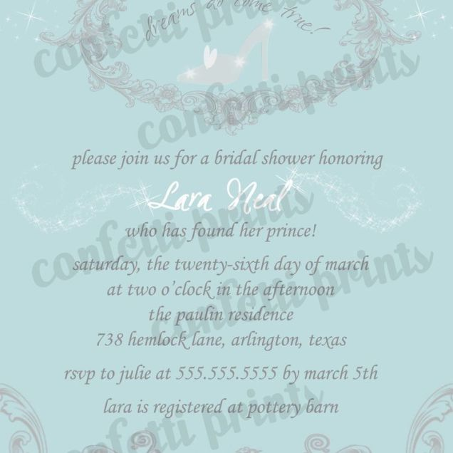Printable Bridal Shower Invitation