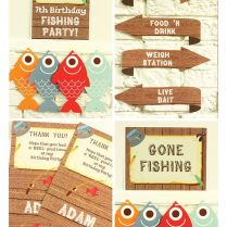 Gone Fishing Party Invitations & Decorations