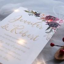 Blushing Blooms – Fall Burgundy, Marsala, And Blush Floral Uv