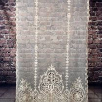 At Auction Now Gorgeous! Antique Victorian French Net Tambour