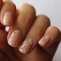 Vintage Wedding Nails