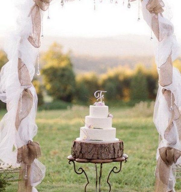 20 Beautiful Wedding Arch Decoration Ideas