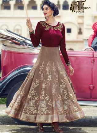 Party Wear Gown Online – Designer Gowns For Reception Online