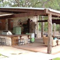 Rustic Outdoor Bar Ideas
