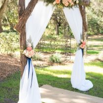 30 Best Floral Wedding Altars & Arches Decorating Ideas – Stylish