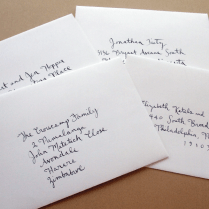 Etiquette For Addressing Wedding Invitations