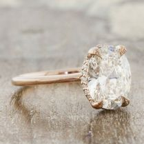 Isabella Is A Rose Gold Solitaire Engagement Ring By Ken Dana