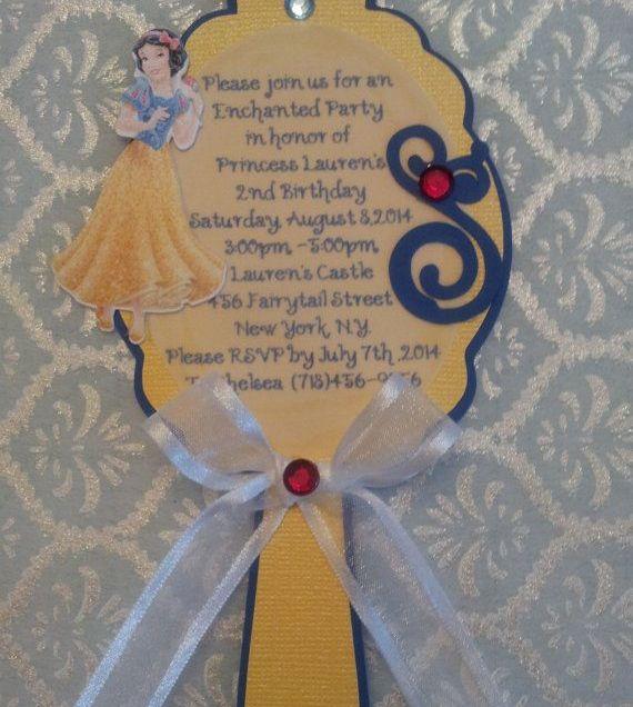 Snow White Invitation Ideas
