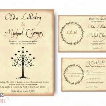 Geek Wedding Invitation Set