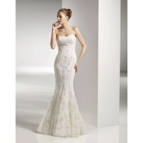 Lace Mermaid Style Wedding Dresses Photo