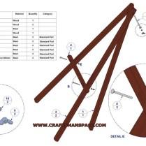 Lightweight Tripod Easel Plan